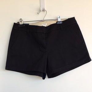 "NWT JCrew Factory Black chino 3.4"" inseam shorts"